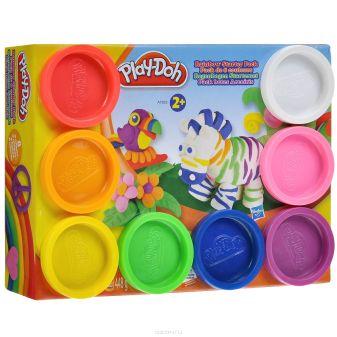 PLAY-DOH - Play-Doh Пластилин: Набор из 8 банок пластилина(A7923) обложка книги