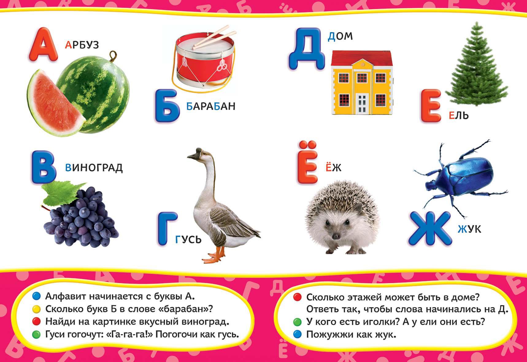 Азбука (Всё-всё-всё для малышей) росмэн у лукоморья всё всё всё для малышей