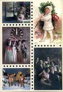 Рождественское чудо. Старинные открытки и иллюстрации.