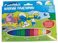 The Smurfs/Смурфики - Мягк пластил