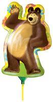 Маша и Медведь - Мини-фигура фольгированная