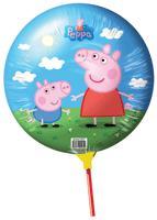 Peppa Pig - Мини-шар фольг. круг 9''