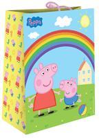 Peppa Pig - Пакет подарочный, PEPPA PIG, 330*267*137, бумажный обложка книги