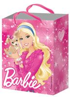 Пакет подарочный, Барби, 330*267*137, бумаж., 157g