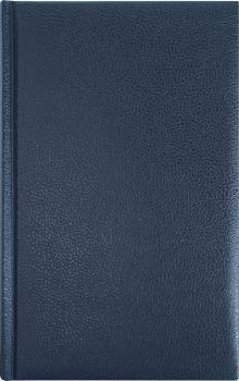 Ежедневник 130х210, DERBY (на форзацах карты) (Синий)