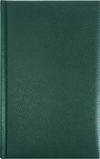 Ежедневник 130х210, DERBY (на форзацах карты) (Зеленый)