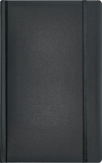 Записная книга, на резинке, 130х210, ARIANE (Черный)