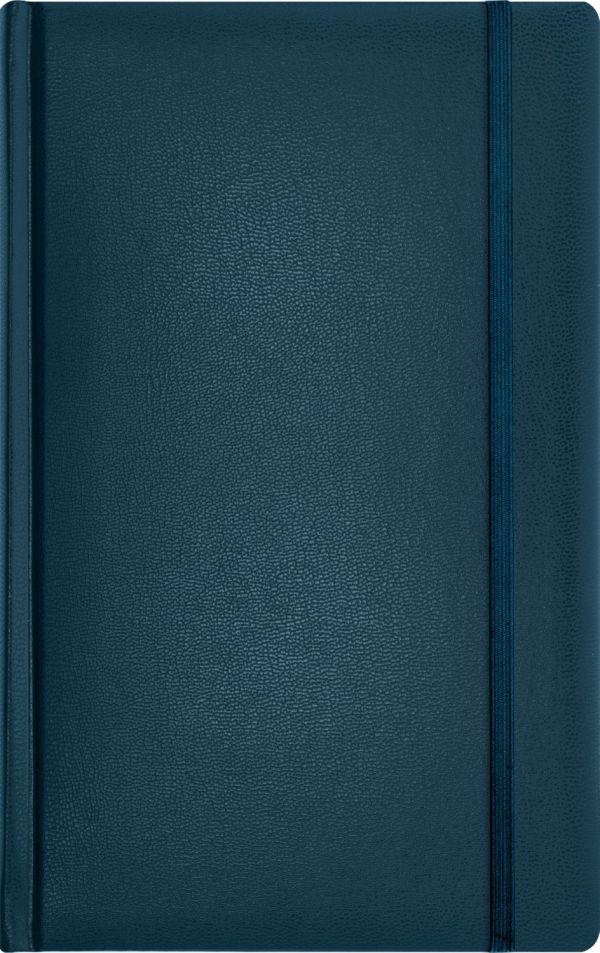 Записная книга, на резинке, 130х210, ARIANE (Синий)