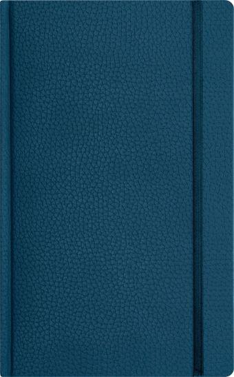 Записная книга, на резинке, 130х210, ARMONIA (Синий)