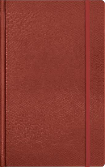 Записная книга, на резинке, 130х210, SALAMANDRA (Коричневый)