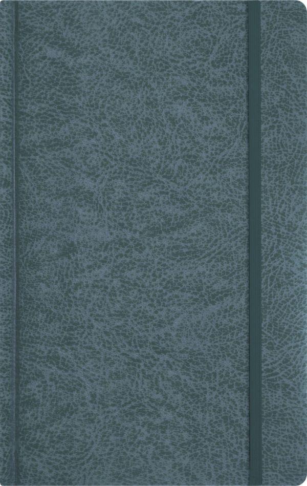 Записная книга, на резинке, 130х210, PERFECT (Графитный)