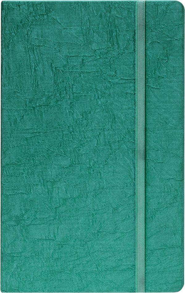 Записная книга, на резинке, 130х210, TSARINA (Зеленый)