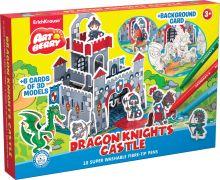 Игровой 3D пазл для раскраш Artberry/Dragon Knights Castle (10 флом+6 карт с фигур д/сборки+игровое поле) (Разноцветн)