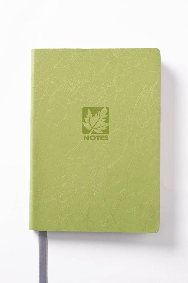 Книга для записей, B6, SCRIBBLE, линейка (Зеленый)