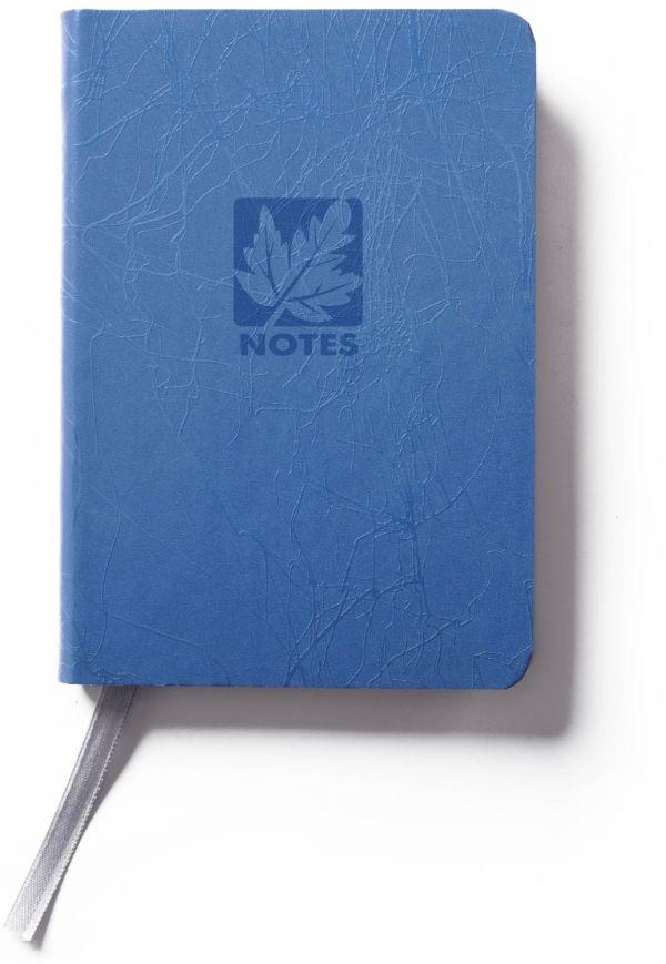 Книга для записей, B7, SCRIBBLE, линейка (Синий)