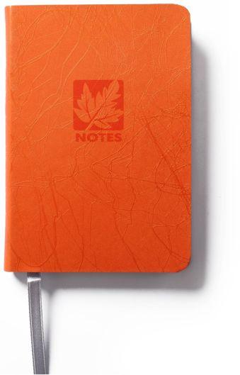 Книга для записей, B7, SCRIBBLE, линейка (Оранжевый)