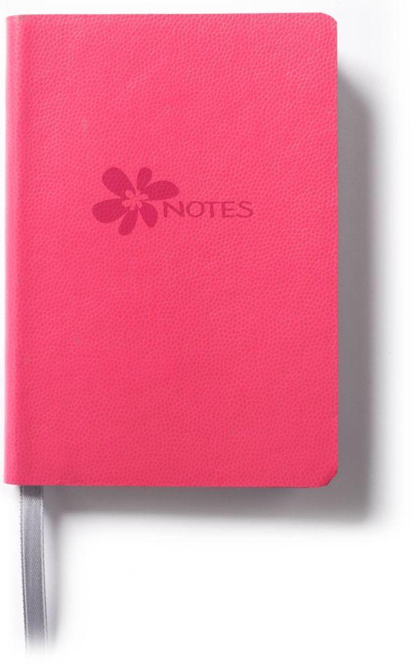 Книга для записей, B7, FLOWER, линейка (Розовый)