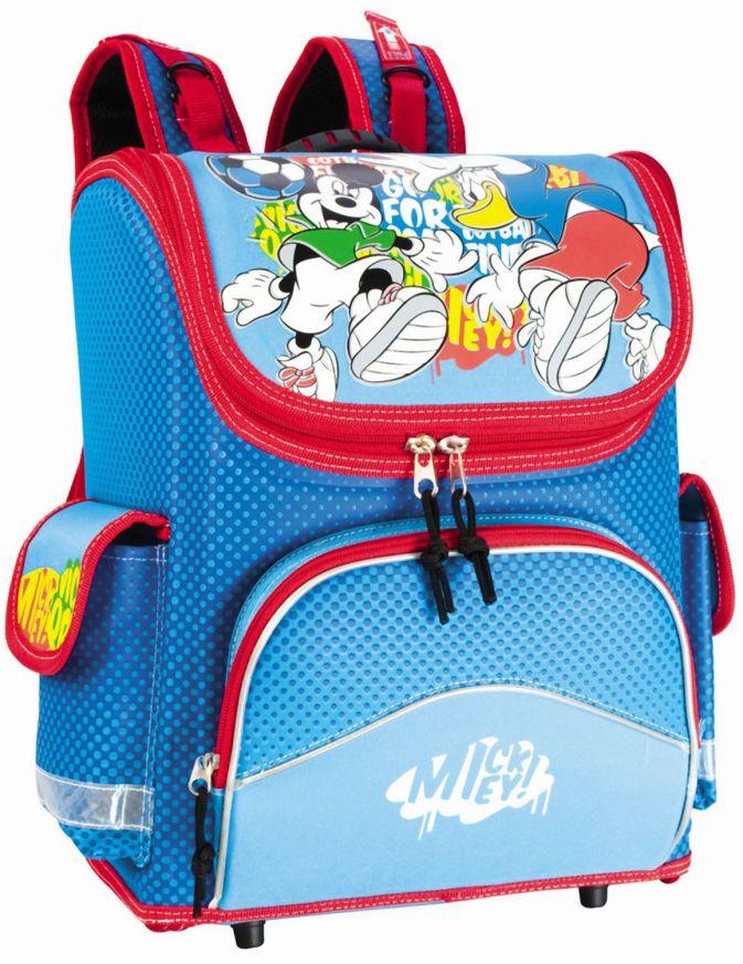 Ранец раскладной Mickey Футбол ( модель Light ) (Разноцветн)