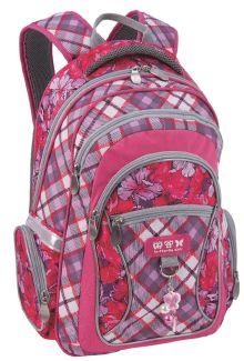 Рюкзак школьный Botanical garden (Розовый)