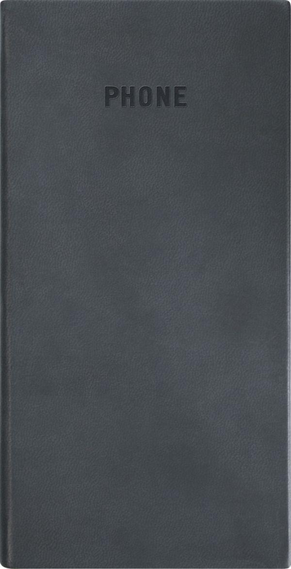 Телефонно-адресная книга   80x155, VIVELLA (Черный)