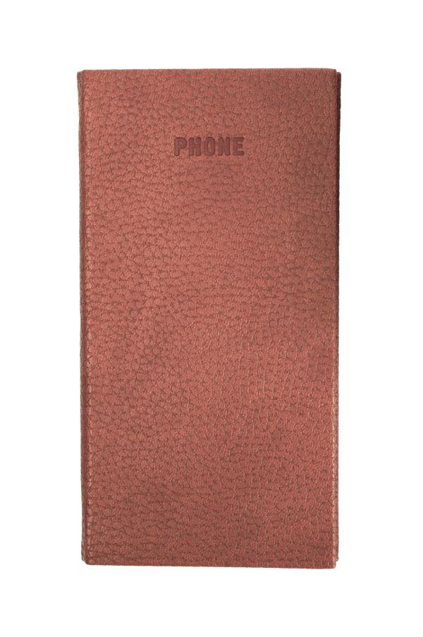 Телефонно-адресная книга   80x155, ARMONIA (Коричневый)