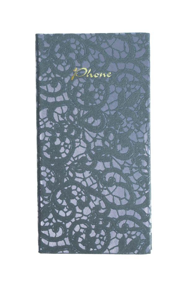 Телефонно-адресная книга   80x155, CALABRIA (Синий)