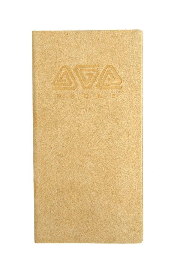 Телефонно-адресная книга   80x155, ETHNIC (Бежевый)