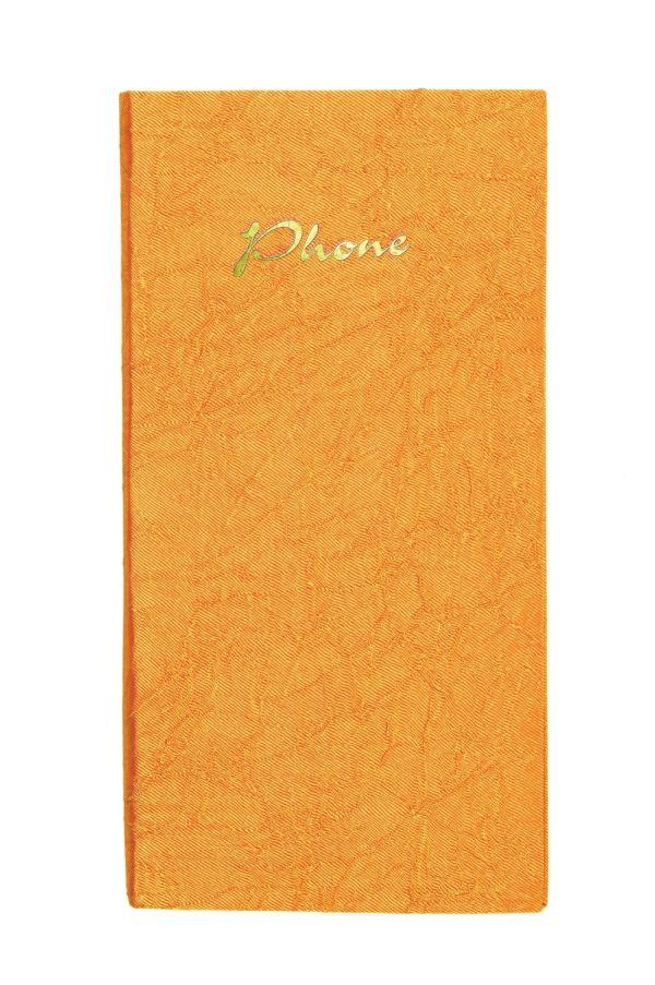 Телефонно-адресная книга   80x155, TSARINA (Карамель)
