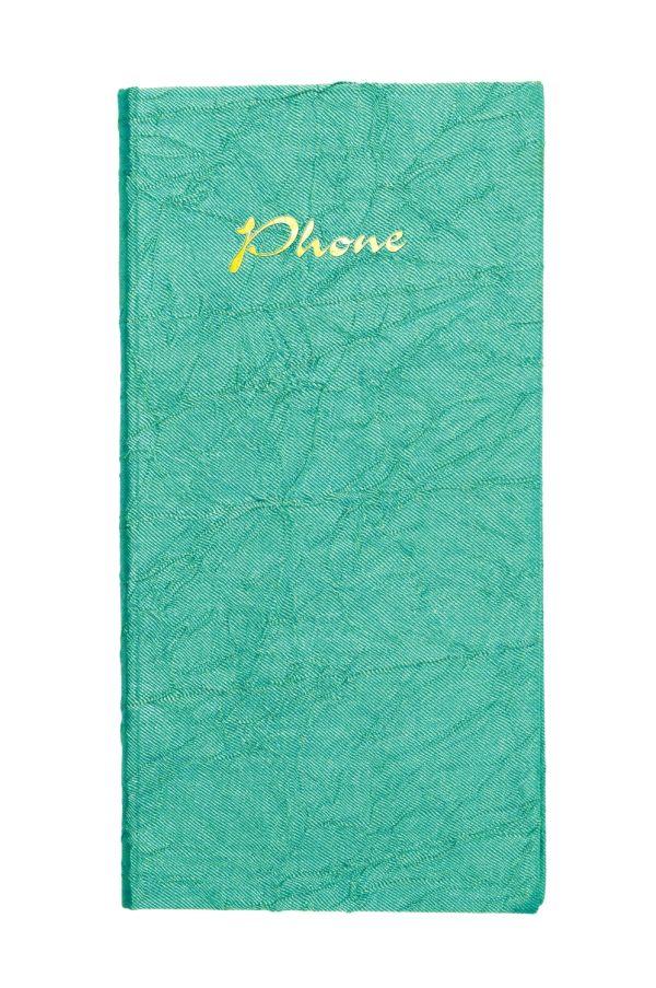 Телефонно-адресная книга   80x155, TSARINA (Зеленый)