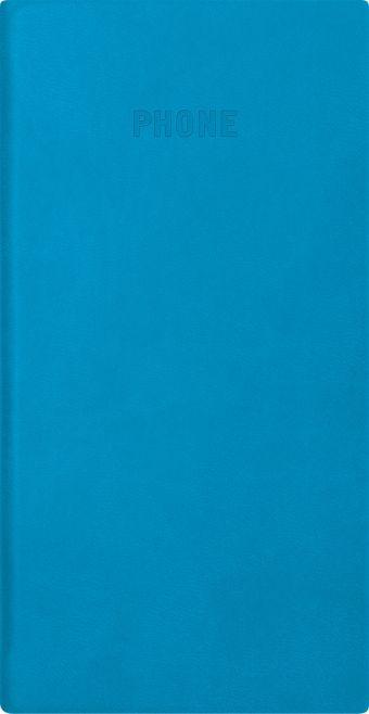 Телефонно-адресная книга   80x155, FESTIVAL (Голубой)