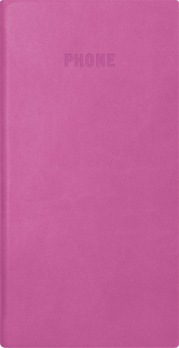 Телефонно-адресная книга   80x155, FESTIVAL (Розовый)