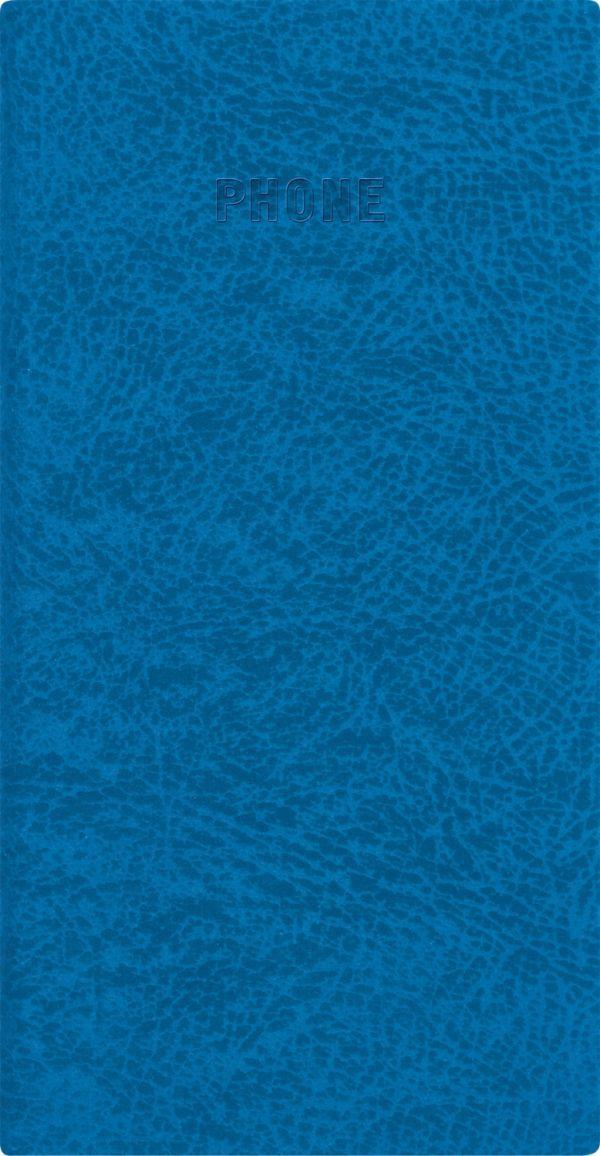 Телефонно-адресная книга   80x155, PERFECT (Синий)