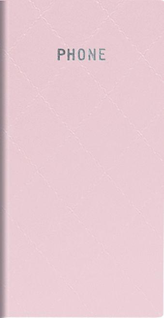 Телефонно-адресная книга   80x155, DIAMOND (Розовый)