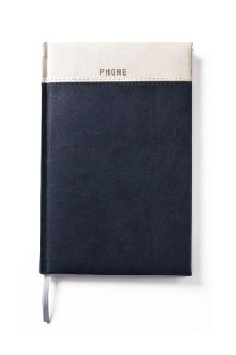 Телефонно-адресная книга 130x210, BICOLOR (Синий)