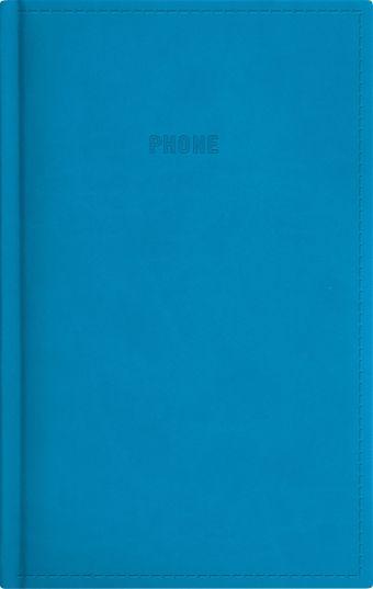 Телефонно-адресная книга 130x210, FESTIVAL (Голубой)