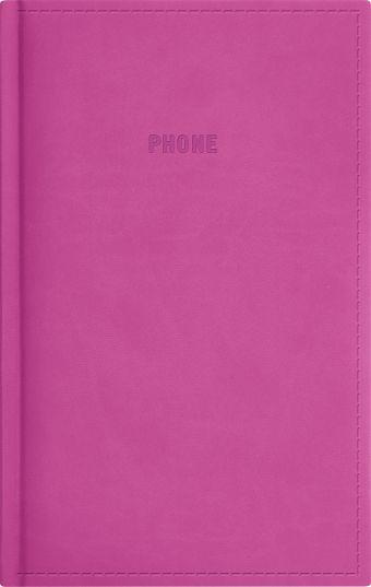 Телефонно-адресная книга 130x210, FESTIVAL (Розовый)