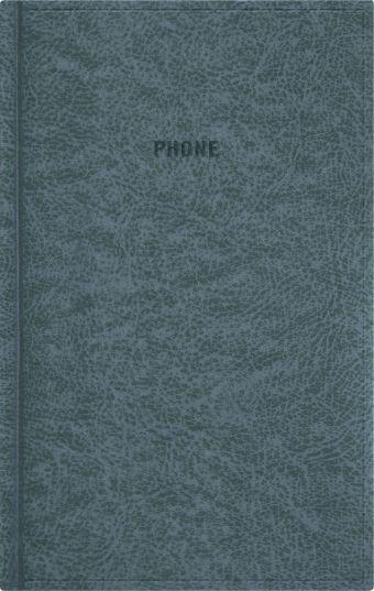Телефонно-адресная книга 130x210, PERFECT (Графитный)