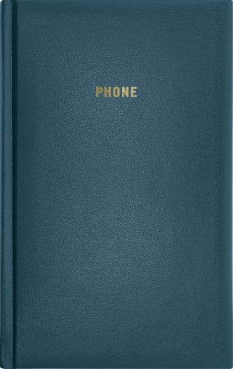 Телефонно-адресная книга 130x210, ARIANE (Синий)