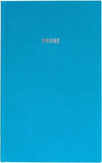Телефонно-адресная книга 130x210, GALINE (Голубой)