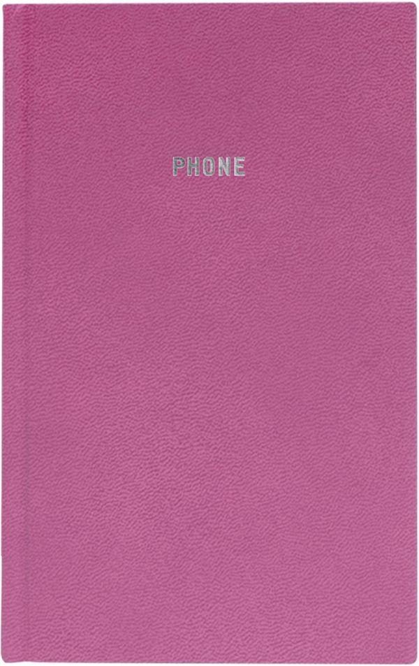 Телефонно-адресная книга 130x210, GALINE (Розовый)