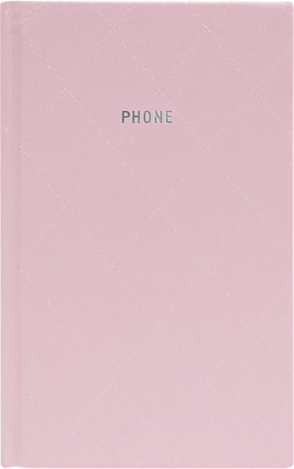 Телефонно-адресная книга 130x210, DIAMOND (Розовый)