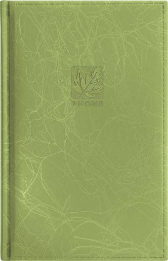 Телефонно-адресная книга 130x210, SCRIBBLE (Зеленый)