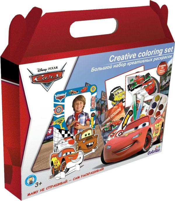 Набор для детского творчества Набор раскрасок Cars