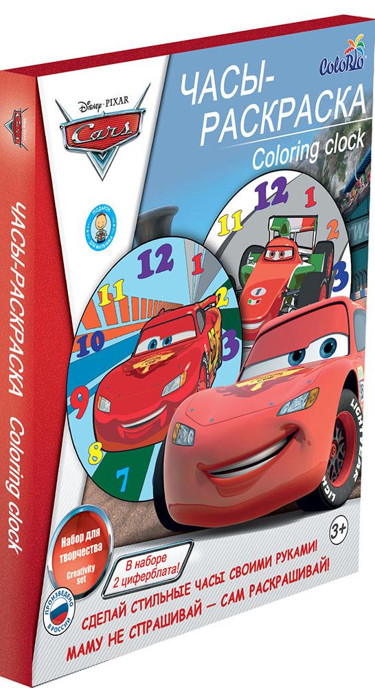 Набор для детского творчества Часы-раскраска Cars