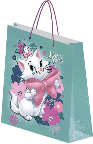 Пакет подарочный бумажный Marie Cat 33х43х10 лам