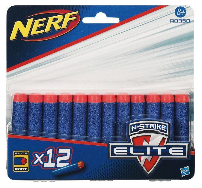 NERF - NERF Комплект 12 стрел для бластеров Элит (A0350) обложка книги