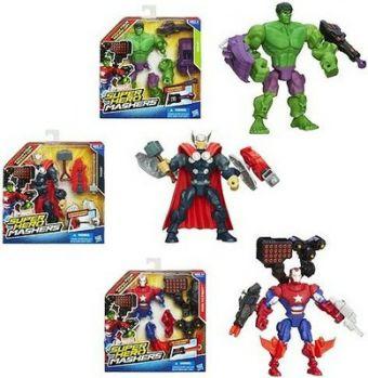 Hero Mashers Разборные фигурки с оружием Super Hero Mashers