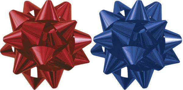Бант-звезда 2 шт металл