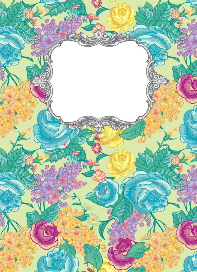 Блокнот для записей Цветочный бунт А6
