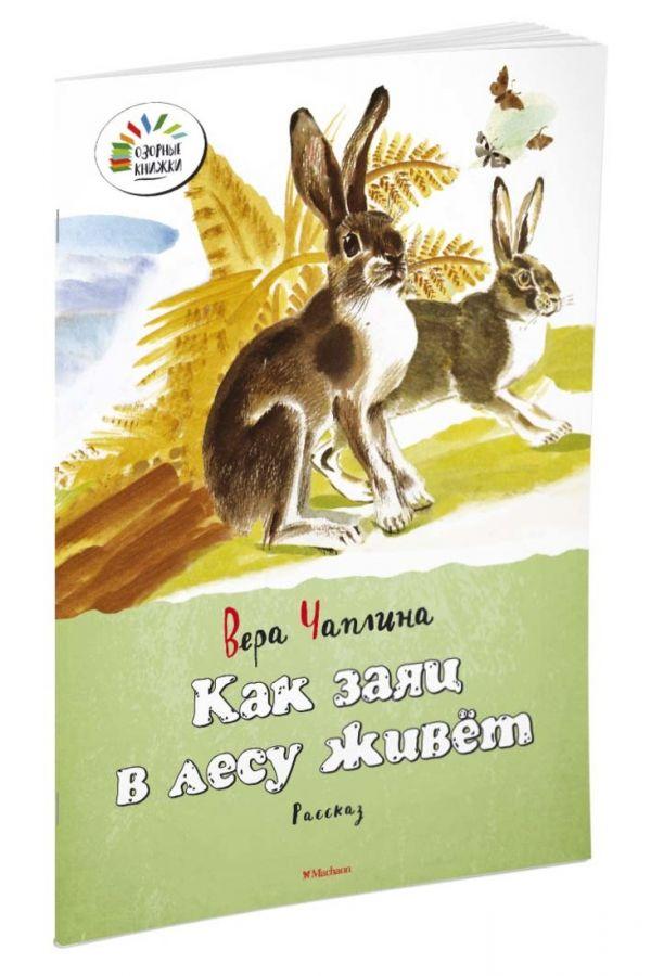 Чаплина Вера Васильевна Как заяц в лесу живёт цена 2017